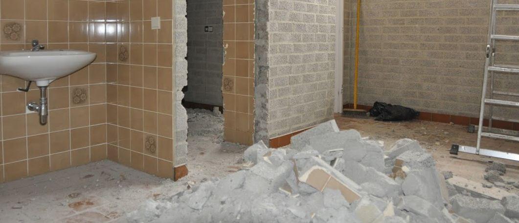 Renovatie kantine en sanitaire ruimtes
