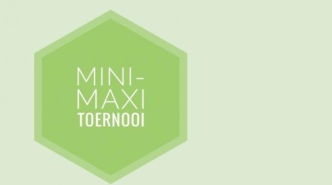Mini-Maxi toernooi 2016