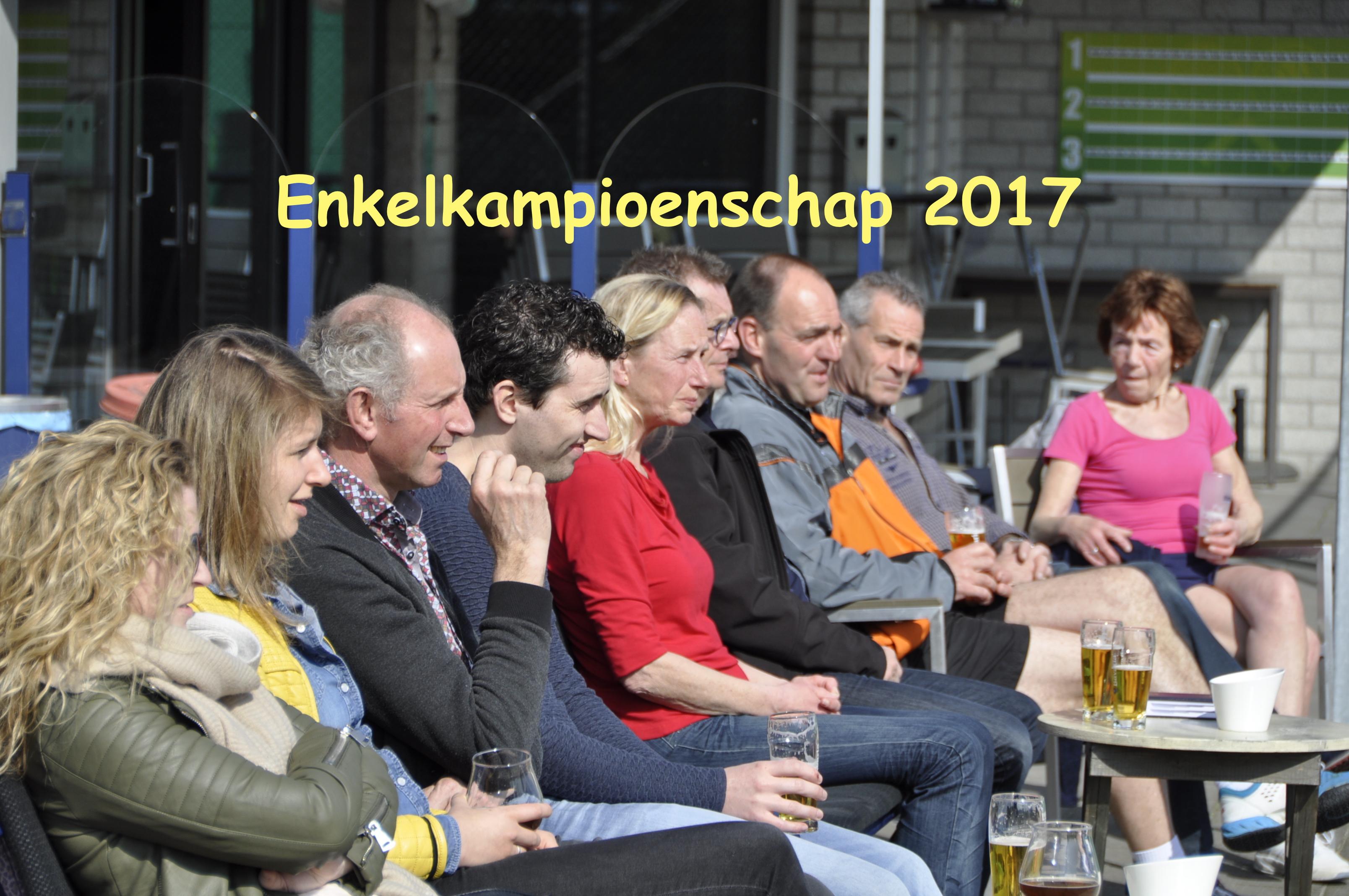 Clubkampioenschap Enkel Senioren 2017