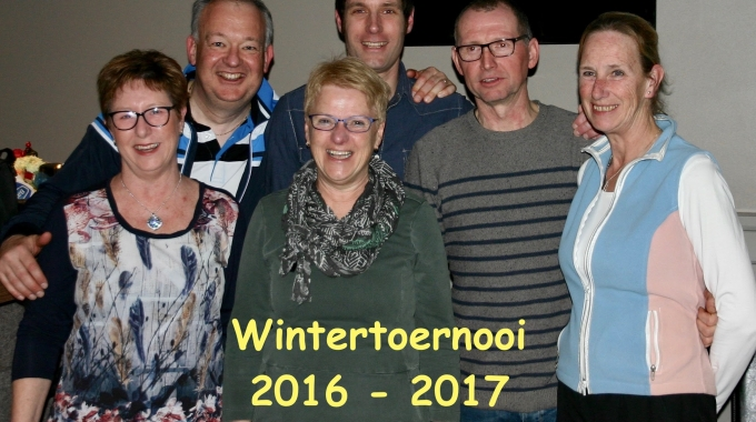 Wintertoernooi 2016-2017