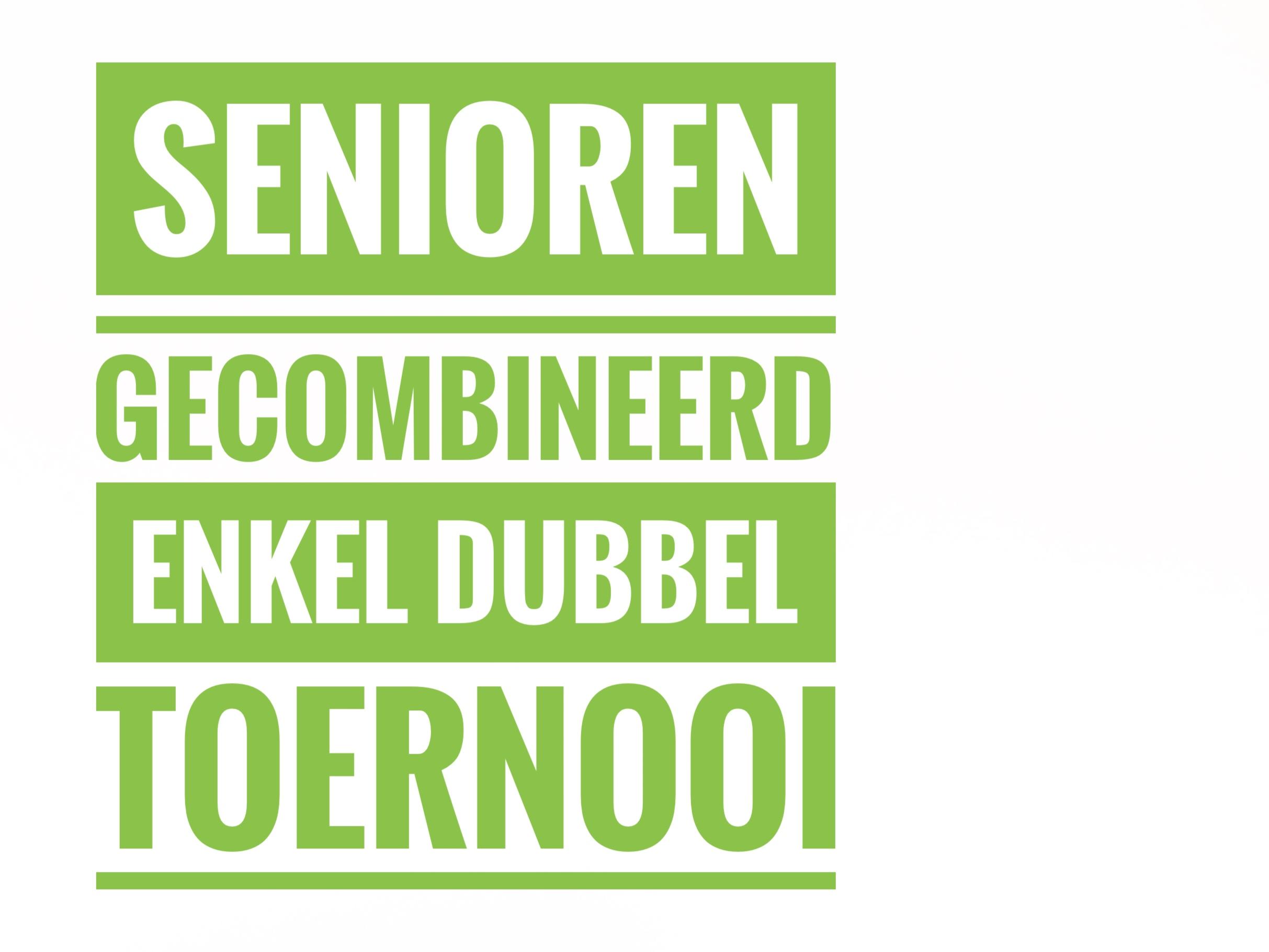 Clubkampioenschap Enkel / Dubbel Senioren 2019